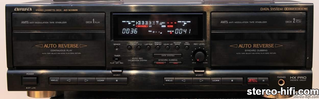 Aiwa AD-WX828 front